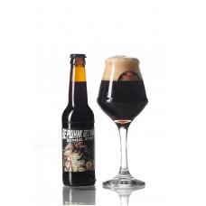 Пиво Вершник без голови Oatmeal Stout Ale Point Brewery темне нефільтроване 5,7° 0,33л