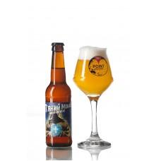 Пиво П'яний Монах Witbier Ale Point Brewery світле пшеничне нефільтроване 4,5° 0,33л