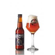 Пиво Шерлок ENGLISH IPA  Ale Point Brewery напівтемне нефільтроване 6° 0,33л