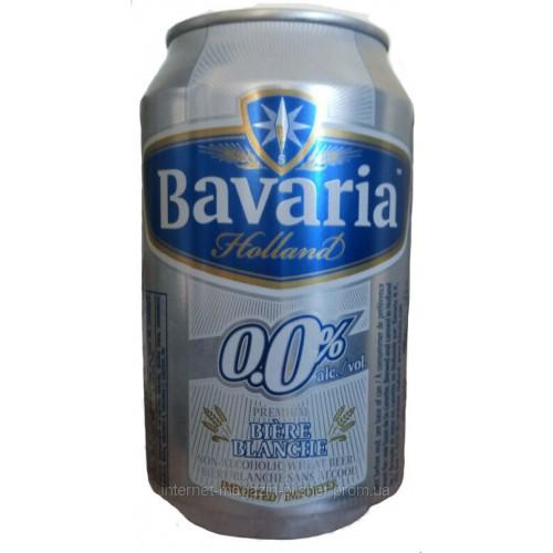 ПИВО BAVARIA WIT 0° 0.3л