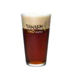 Пиво Дубовый Гай производства AIE POINT Brewery original темное нефильтрованное 4,5° за 0,5 кг