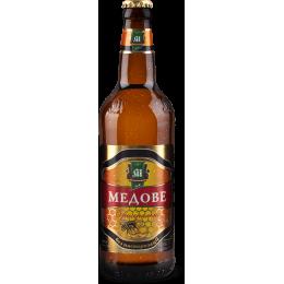 Пиво Микулин медове світле 4,5° 0,5л