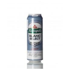 Пиво Kalnapilis Blanc Select 0,568 ж/б Witbier 5°