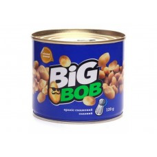 """Арахіс""""BIG BOB"""" банка сіль 120г"""