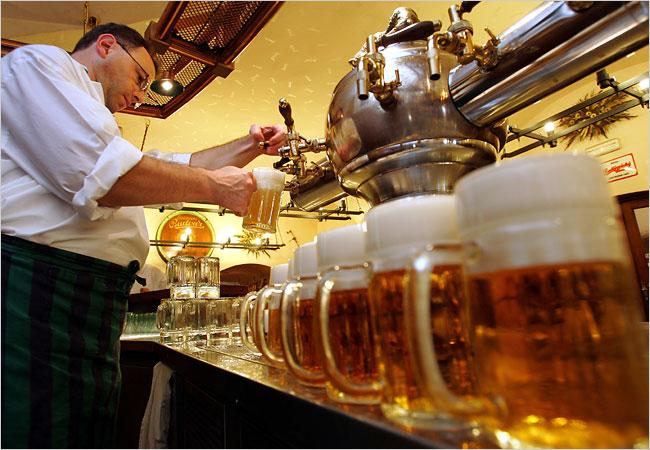 О Культуре пития пива