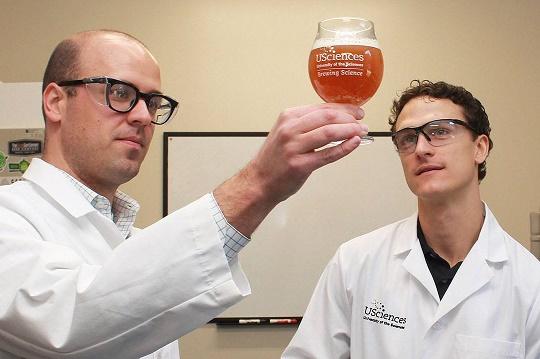 Исследования Университета наук Америки в области пивоварения.