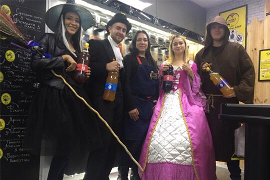 Хеллоуин в Тандеме!!!