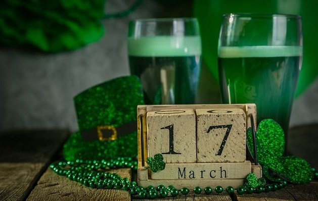 День Святого Патрика: много Зелёного Пива на Удачу!