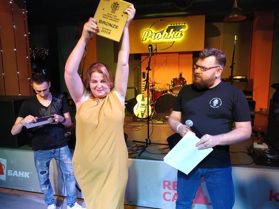 Тандем - Победитель Hop Cup Ukraine Open Beer Awards!